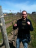 Uh oh! Sommelier in the vineyard